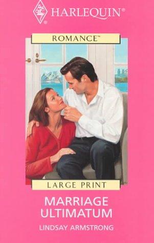9780263163667: Marriage Ultimatum