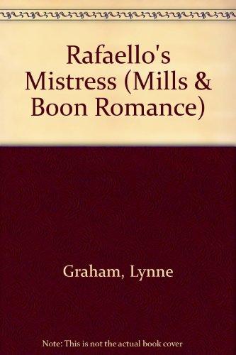 9780263170764: Rafaello's Mistress (Romance)