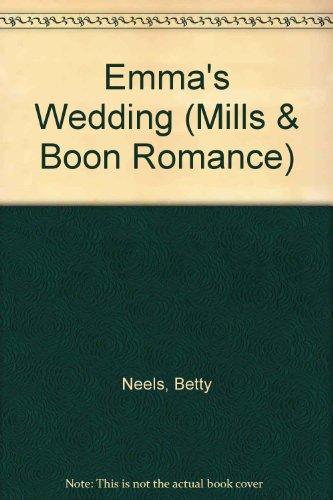 Emma's Wedding (Romance) (9780263170849) by Betty Neels