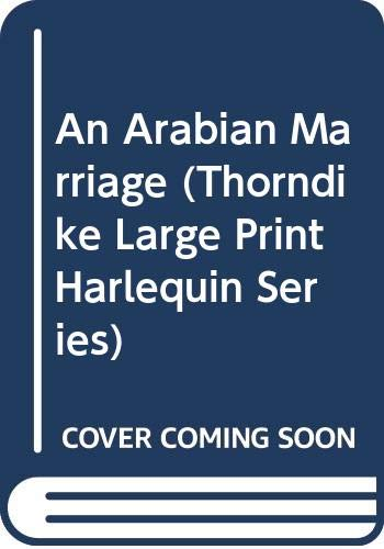 9780263173376: An Arabian Marriage