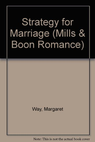 9780263175073: Strategy for Marriage (Romance)