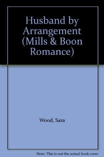 9780263175844: Husband by Arrangement (Mills & Boon Romance)