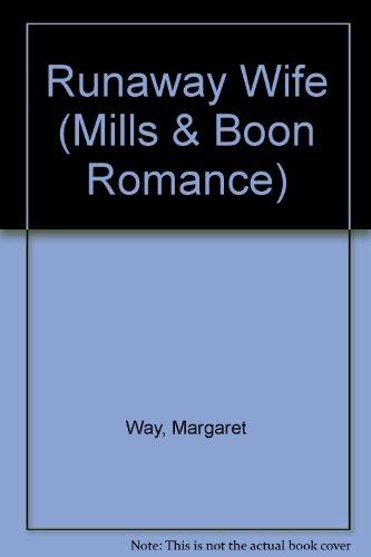 9780263177152: Runaway Wife (Romance)
