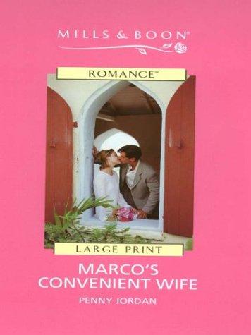 9780263178760: Marco's Convenient Wife