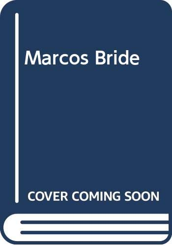 9780263179255: Marco's Pride (Mills & Boon Romance)