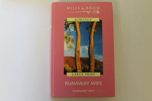 9780263179590: Runaway Wife