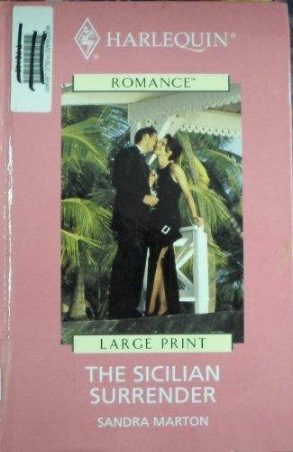 9780263180787: The Sicilian Surrender (Mills & Boon Romance)