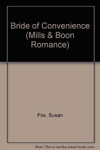 9780263180800: Bride of Convenience