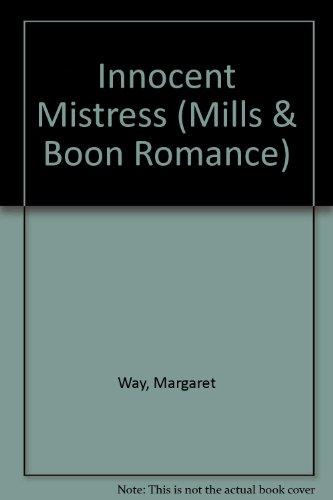 9780263181197: Innocent Mistress