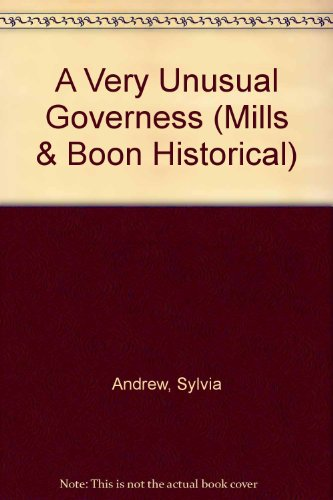 9780263181951: A Very Unusual Governess