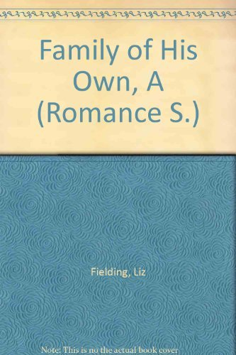 9780263182132: Family of His Own, A (Romance S.)
