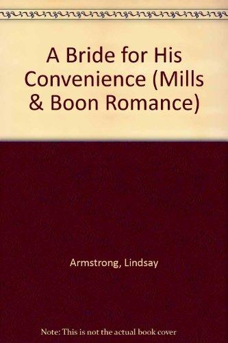 9780263183214: A Bride for His Convenience (Romance)