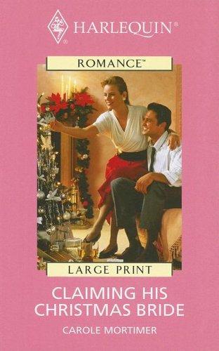 9780263185423: Claiming His Christmas Bride