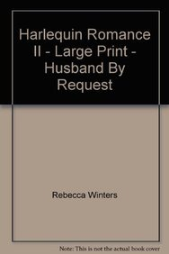 9780263185928: Husband by Request (Mills & Boon Largeprint Romance)