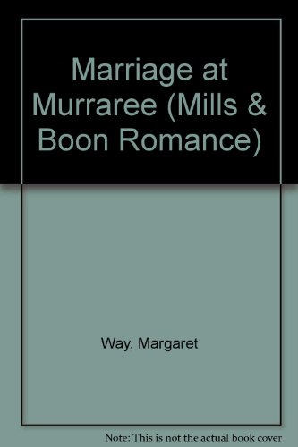 9780263187311: Marriage at Murraree (Romance)