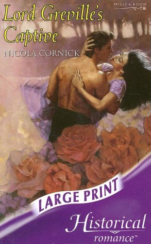 9780263190762: Lord Greville's Captive (Mills & Boon Historical