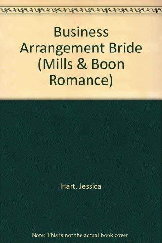 9780263192247: Business Arrangement Bride (Romance)