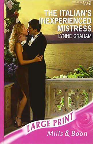9780263194739: The Italian's Inexperienced Mistress
