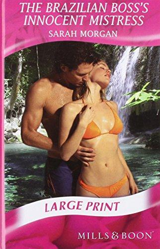 9780263195057: The Brazilian Boss's Innocent Mistress (Romance Large)