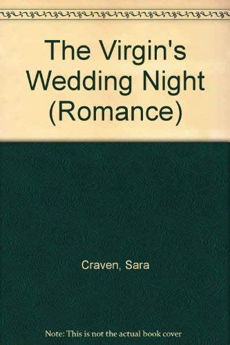 9780263197372: The Virgin's Wedding Night (Romance)