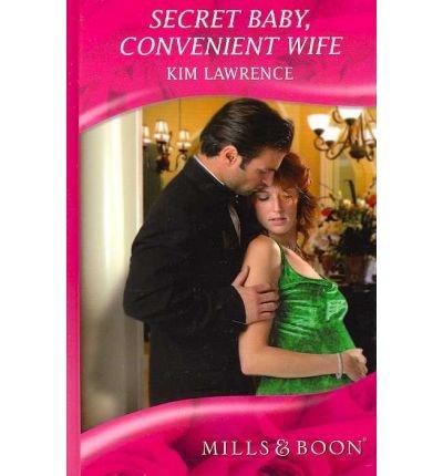 9780263200683: Secret Baby, Convenient Wife (Mills & Boon Largeprint Romance)