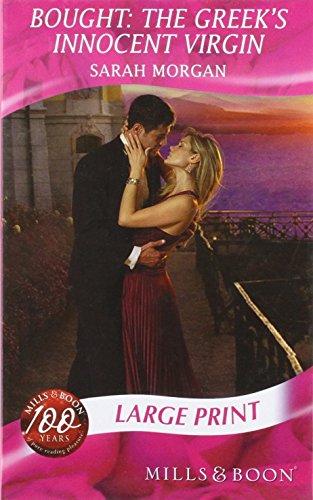 9780263200843: Bought: the Greek's Innocent Virgin (Mills & Boon Largeprint Romance)