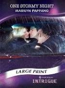 9780263201444: One Stormy Night (Mills & Boon Largeprint Intrigue)