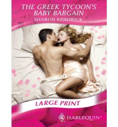 9780263202564: Greek Tycoon's Baby Bargain