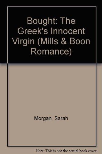 9780263202724: Bought Greeks Innocent Virgin