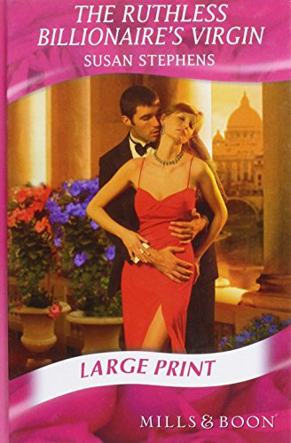 The Ruthless Billionaire's Virgin (Mills & Boon Largeprint Romance) (0263206211) by Susan Stephens