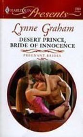 9780263208191: Desert Prince, Bride of Innocence (Mills & Boon Hardback Romance)
