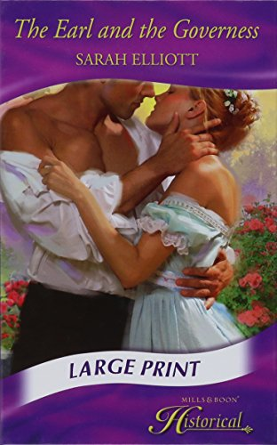 9780263211443: The Earl And The Governess (Mills & Boon Historical Romance)