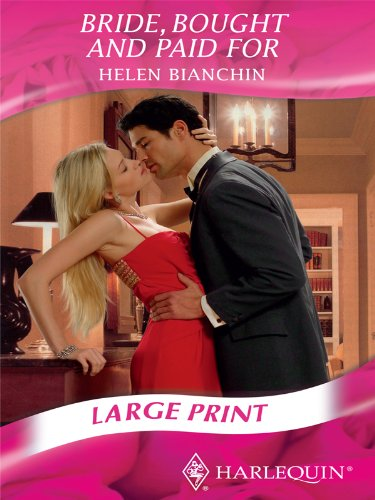 9780263211832: Bride, Bought and Paid for (Mills & Boon Largeprint Romance)