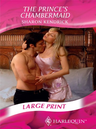 9780263212051: The Prince's Chambermaid (Romance Large Print)