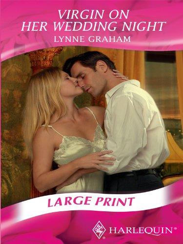 9780263212365: Virgin on Her Wedding Night (Romance Large Print)