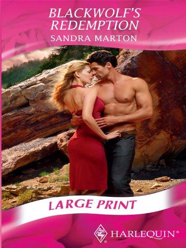 9780263212372: Blackwolf's Redemption (Mills & Boon Largeprint Romance)