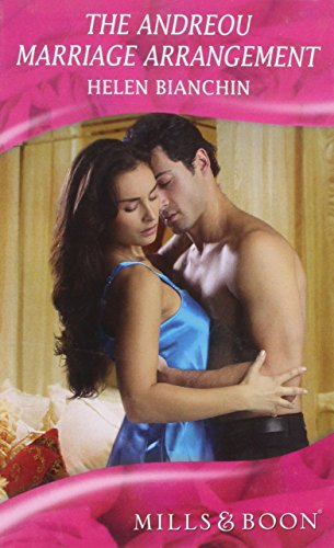 Andreou Marriage Arrangement (Mills & Boon Hardback Romance): Bianchin, Helen