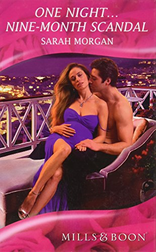 9780263213911: One Night...Nine-Month Scandal (Mills & Boon Hardback Romance)