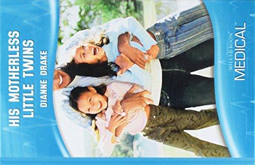 His Motherless Little Twins (Mills & Boon Hardback Medical) (Hardcover)