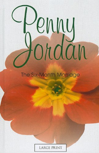 The Six-Month Marriage (Mills & Boon Historical Romance): Jordan, Penny