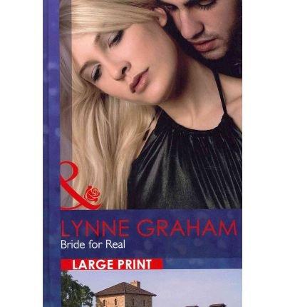 9780263220551: Bride for Real (Mills & Boon Hardback Romance)