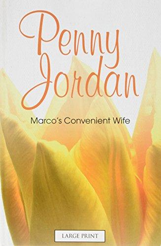 9780263223293: Marco's Convenient Wife