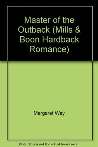 9780263226492: Master of the Outback (Mills & Boon Hardback Romance)