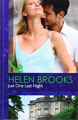 9780263227871: Just One Last Night (Mills & Boon Hardback Romance)