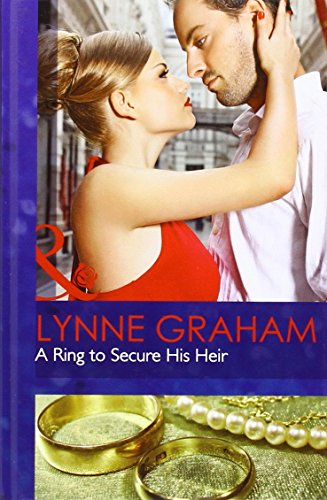 9780263228373: A Ring to Secure His Heir (Mills & Boon Hardback Romance)