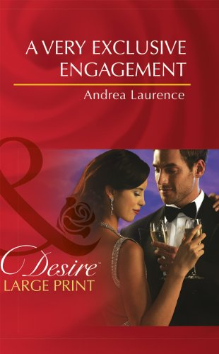 9780263237962: A Very Exclusive Engagement (Mills & Boon Largeprint Desire)