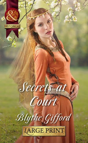 9780263239775: Secrets at Court (Mills & Boon Largeprint Historical)