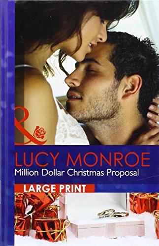 9780263240269: Million Dollar Christmas Proposal (Mills & Boon Largeprint Romance)