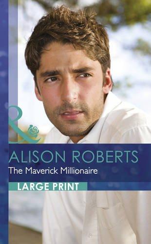 9780263241228: The Maverick Millionaire (The Logan Twins - Book 2) (Largeprint Romance)