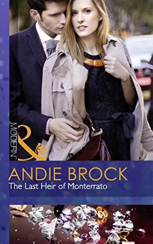 9780263248302: The Last Heir Of Monterrato